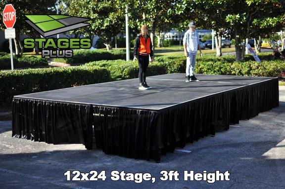 Speaking Stage Rental Orlando Stage Rental Rent
