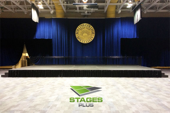 speaking stage