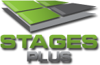 Stages Plus Logo