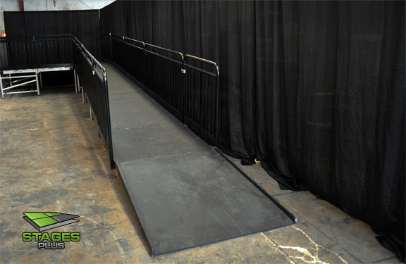 Stage ramp