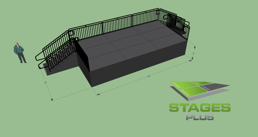 12ft Stages Sizes