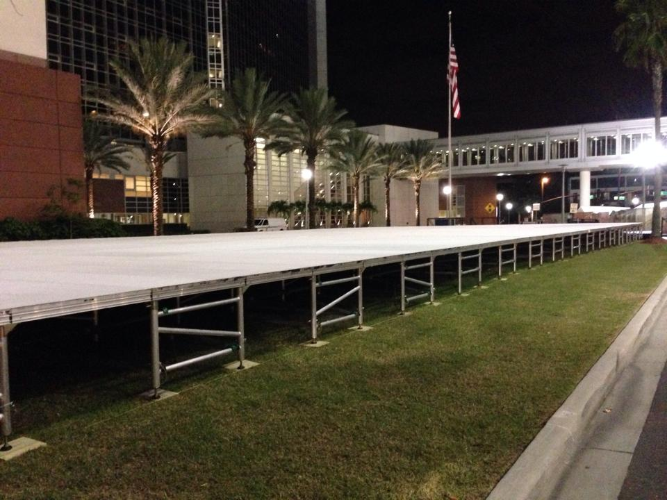 Tent Flooring Rental Orlando Stage Rental Rent