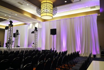 pipe drape rental
