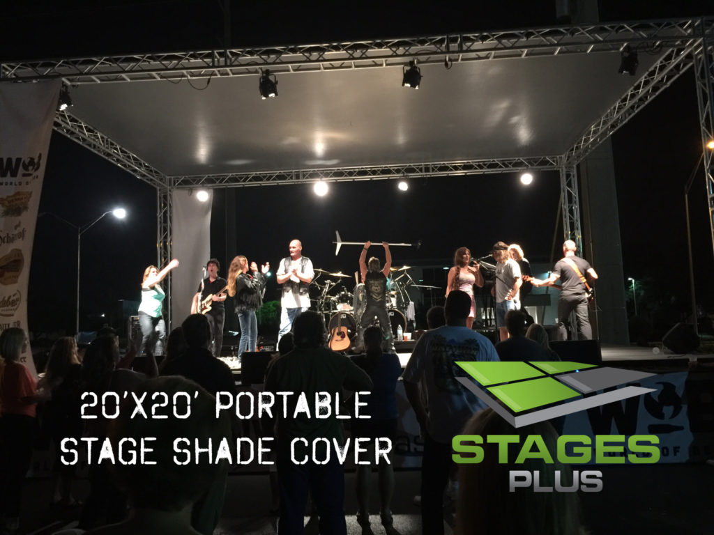 Roof alternative orlando stage rental