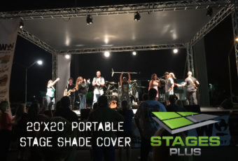 Shade Stage Cover